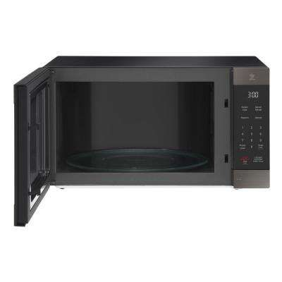Black Stainless Steel Lg Electronics Microwaves