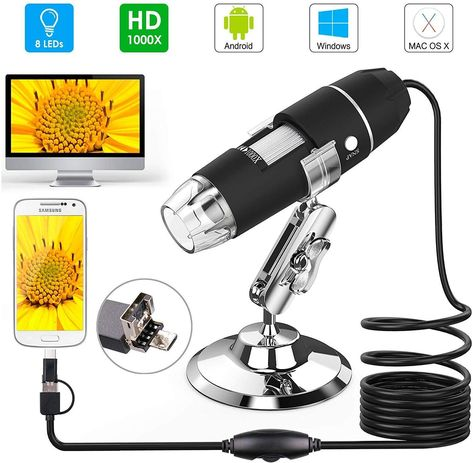 100x Magnification Microscope Camera (Android, MAC,  PC Version) - Cosmos - Technical Instruments