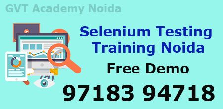 Join Seleniumtraining In Noida At Gvt Academy Is An Excellence