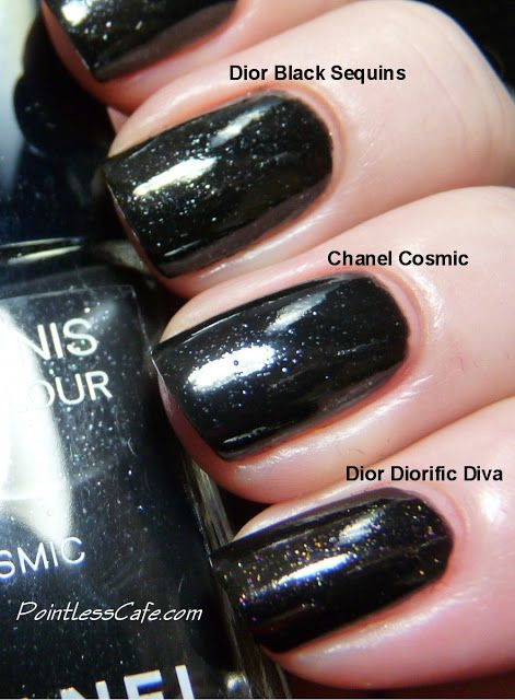 Chanel FNO 2013 Cosmic - Swatches, Review and Comparison | Pointless Cafe