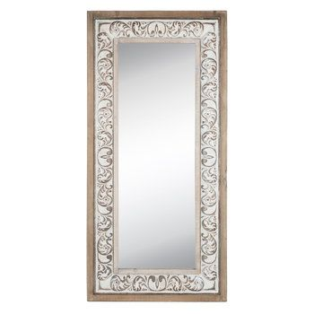 Flourish Rustic Wood Wall Mirror Hobby Lobby 1664408 Rustic Wood Walls Mirror Wall Wood Wall Mirror