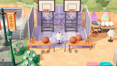 Outdoor Theater, Outdoor Gym, Pink Island, Animal Crossing 3ds, Abandoned Amusement Parks, New Leaf, Tropical Backyard Landscaping, Carnival, Custom Design