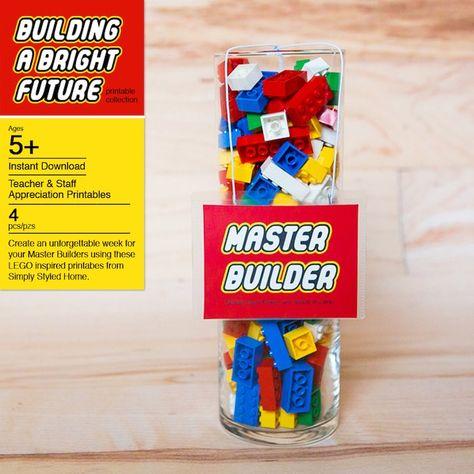 Legos from a Lego Inspired Teacher Appreciation Party via Kara's Party Ideas! KarasPartyIdeas.com (3)