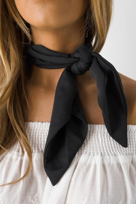 Whats done is done. Rock our Thats A Wrap Neck Scarf with an off the shoulder top or deep v neck and steal the show. - 100% Polyester Spot Clean Only