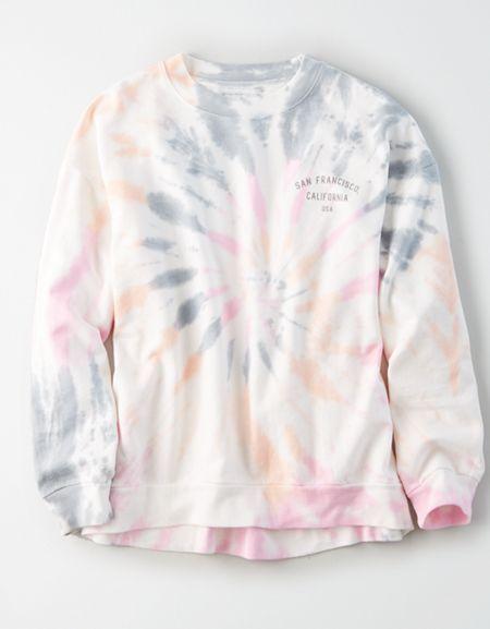 Tye Dye Shirt Gray Stranger Things Reverse Tie Dye Sweatshirt Acid Wash Upcycled