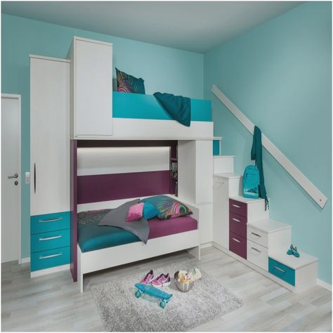 Awesome Kinderzimmer Set Mit Hochbett Sehr Schon Jugendzimmer