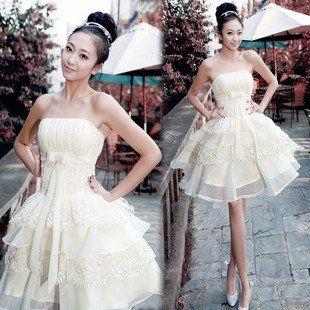 Discount FREE Shipping Evening Dress 2011 New Princess Tutu Cake Wedding Short Free 310x310