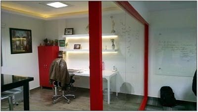 Floor To Ceiling Cubicles With Doors