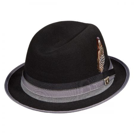 7979a6dd0ebaf Crushable Center Dent Fedora Hat available at  VillageHatShop