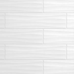 daltile restore bright white 4 in x 16