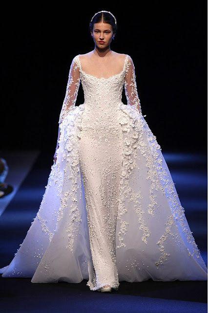 14 Lebanese Fashion Designers Who Make the Most Beautiful Wedding 7