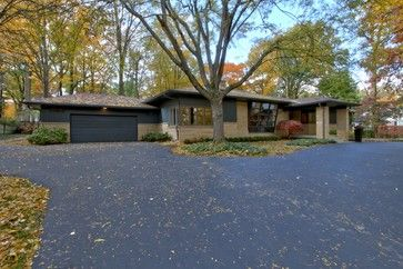 Mid-Century Modern Whole House Renovation, Design by MWHarris - midcentury - Exterior - Indianapolis - Wrightworks, LLC