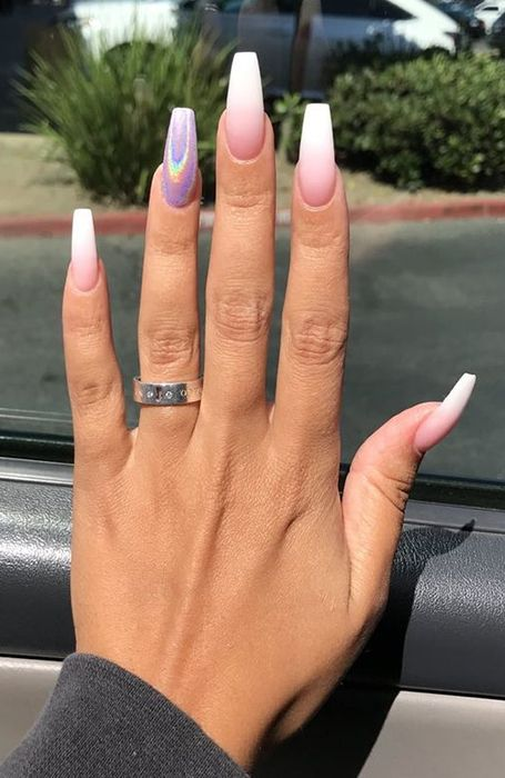 20 Cute Summer Nail Designs For 2020 In 2020 Coffin Nails Designs Cute Acrylic Nails Acrylic Nail Shapes