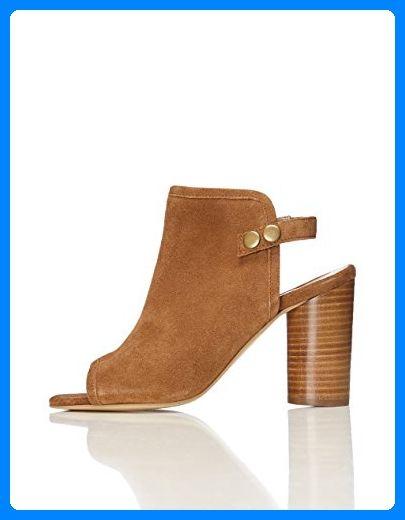 Damen Sommer Sandalen Pumps High Heels Candy Sandaletten Blockabsatz Pantoletten