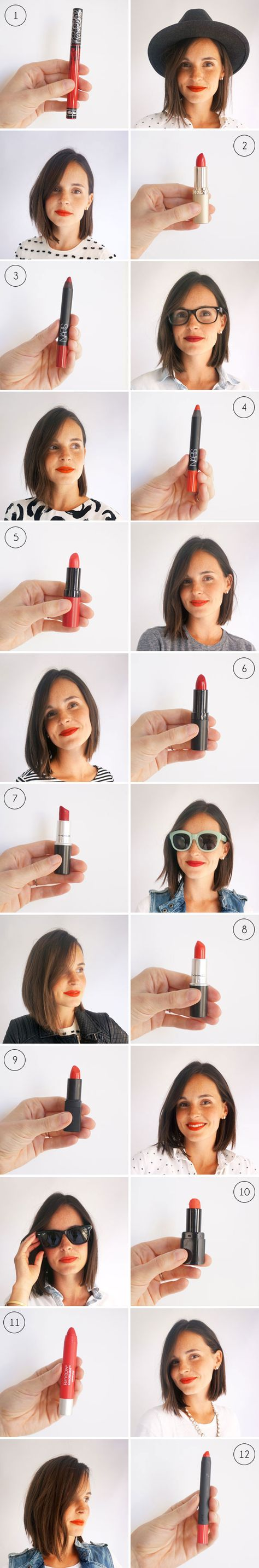 The BEST Red Lipsticks   Oh Happy Day!