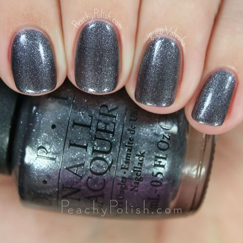 OPI No More Mr. Night Sky | 2015 Starlight Collection | Peachy Polish