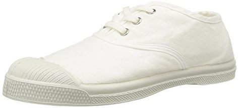 Bensimon Tennis, Herren Sneaker Weiß Blanc (Blanc 101) 43
