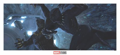 Black Panther Concept Art by Jackson Sze