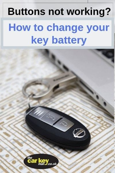 Nissan Proximity Key Battery Change How To Replace The Car Key