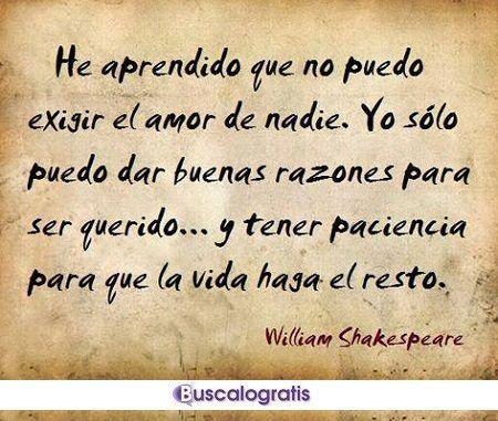 Las Mejores Frases De William Shakespeare Frases