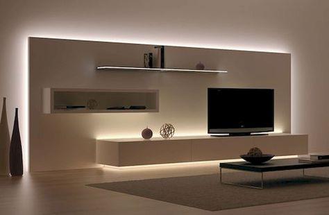 Indirekte Beleuchtung Wohnzimmer Ideen Dream home Pinterest - ideen für indirekte beleuchtung im wohnzimmer