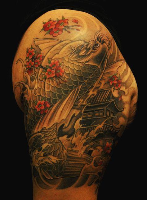Chronic Ink   Toronto & Vancouver   Black and Grey Asian