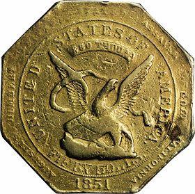 United States 50 Dollar Gold Piece