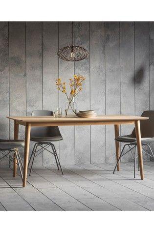 Hudson Living Milano Dining Table Scandinavian Dining Table