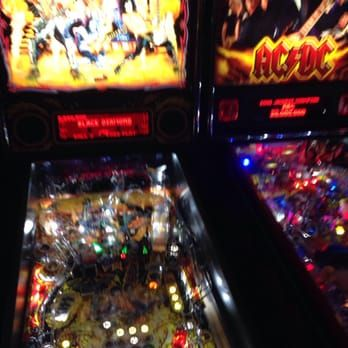 Kiss Next To Ac Dc Next To Metallica Pinball Machines Yelp
