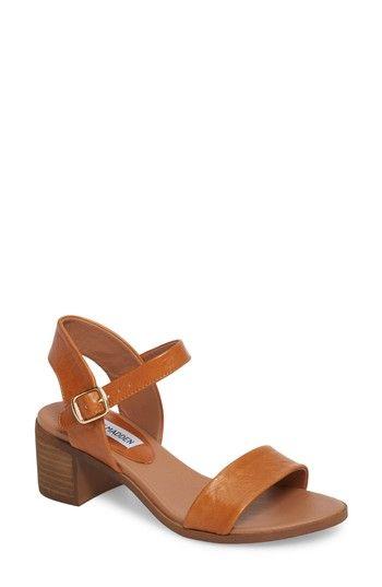 steve madden sandals heel