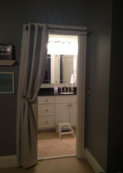 ideas for bedroom door curtains house