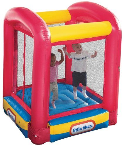Amazon.com: Little Tikes Bounce House Trampoline: Toys U0026 Games | Toddler  Toys | Pinterest | Trampolines And Toy