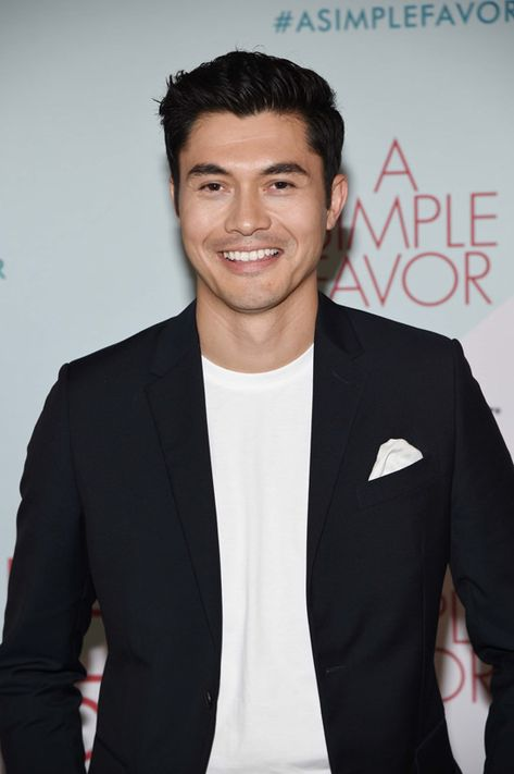 """Crazy Rich Asians"" Star Henry Golding Keeps it Simple at a Cocktail Party to Celebrate ""A Simple Favor"" 