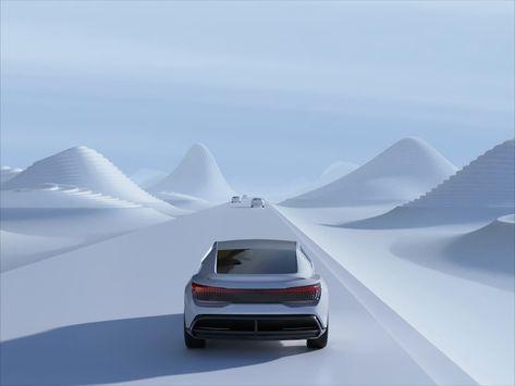 Audi Aicon speed road