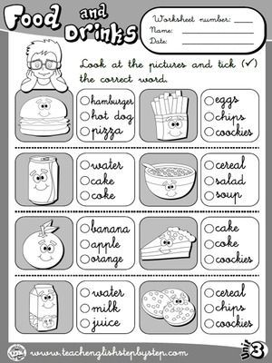 Image result for english food and drinks vocabulary ...