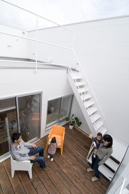 ルーフバルコニーのある家 ソラマド写真集 ルーフ バルコニー