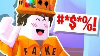 Someone Swore At Roblox Pretending To Be Me Roblox Dantdm