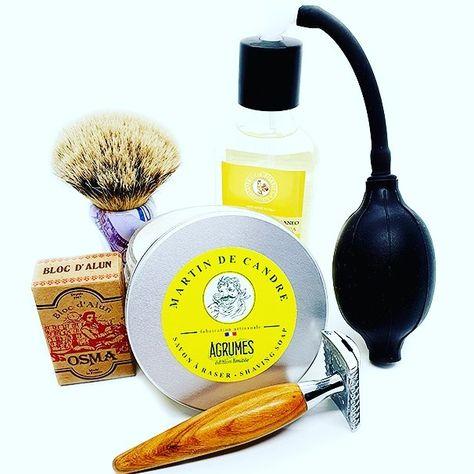 Martin de Candre and Saponifiio Bignoli are the fresh citrus scents which bring the shave to perfection