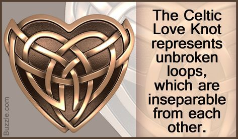 Celtic symbols narrate stories of eternal love and romance. Celtic love symbols indicate numerous meanings and emotions.