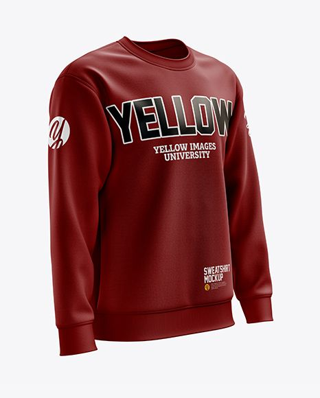 Download Men S Midweight Sweatshirt Mockup Right Half Side View In Apparel Mockups On Yellow Images Object Mockups Shirt Mockup Sweatshirts Design Mockup Free