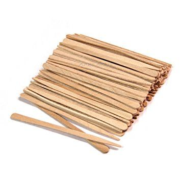 2500 Ct Small Wooden Waxing Applicator Sticks For Eyebrow Face