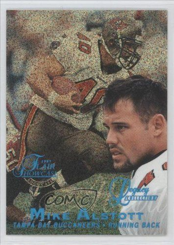 Mike Alstott #24/100 Tampa Bay Buccaneers (Football Card) 1997 Flair