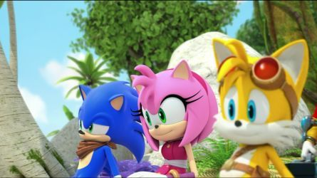 Sonic Amy And Tails By Sonicboomgirl23 Sonic And Amy Sonic