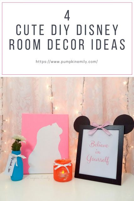 Pumpkin Emily 4 Cute Diy Disney Room Decor Ideas Disney Room Decor Disney Decor Disney Rooms
