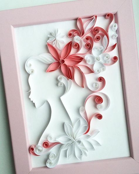I wanted to add tenderness #quilling#paper#art