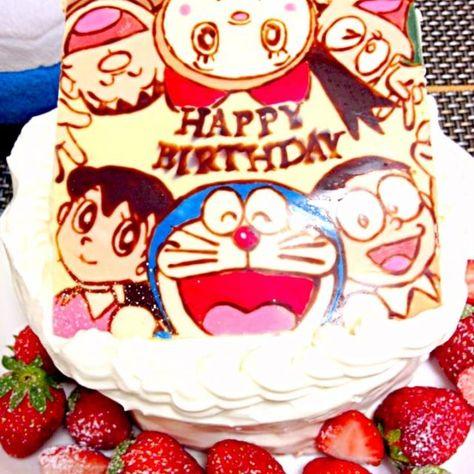 ドラえもん誕生日ケーキ Frontier