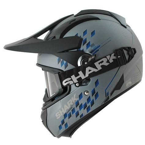 Ministry Of Bikes Shark Explore R Helmet Arachneus Mat Sbk