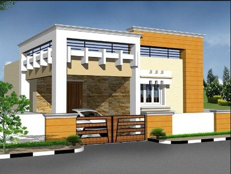 Tamilnadu House Elevation Designs Village House Design House Outer Design House Elevation
