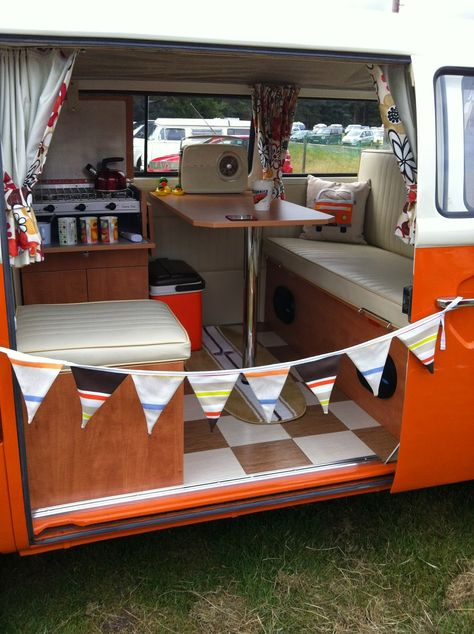 VW Campervan interior