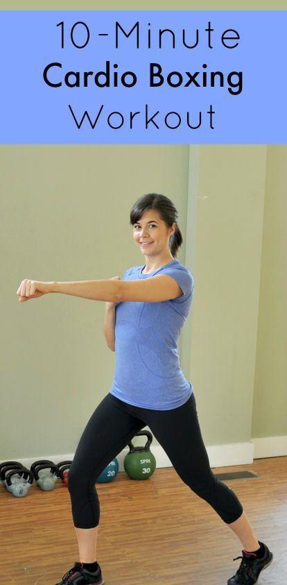 10-Minute #Kickboxing Workout
